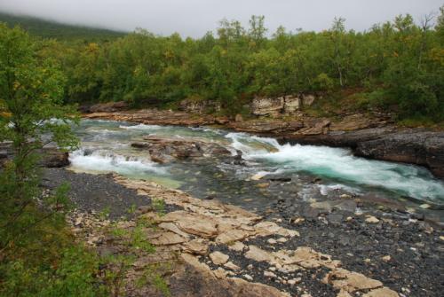 Den flotte Abiskojåkka elv