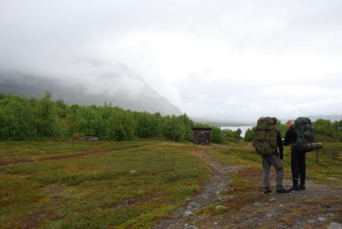 Første dags vandring