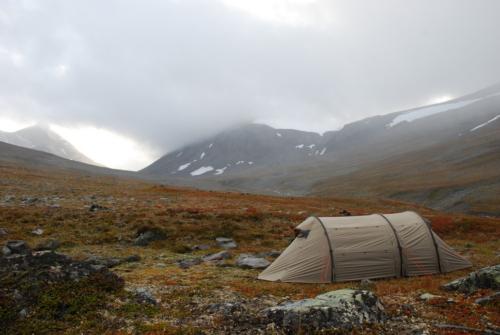 Teltet på Kaskavagge